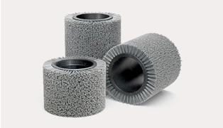 Rodillos abrasivos Mod. Gratax
